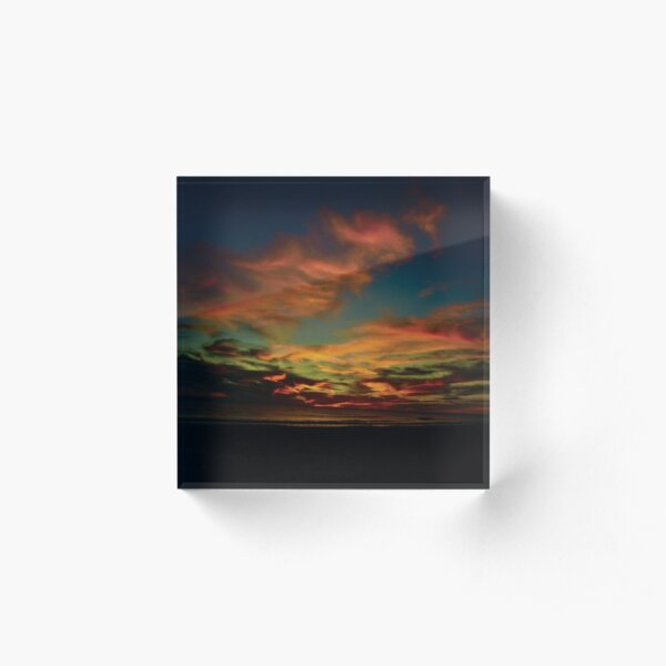 Sunset in Baja Acrylic Block