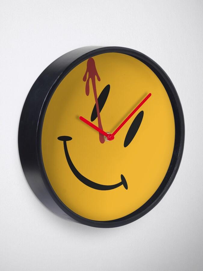 Alternate view of Watchmen Button Design Clock