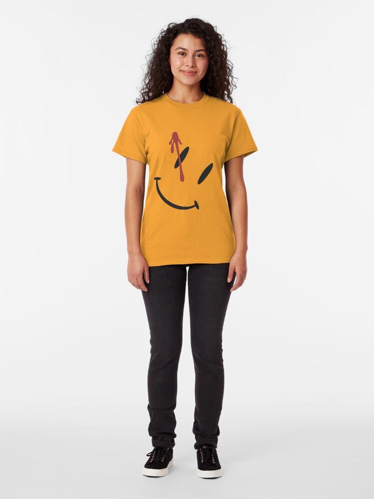 Alternate view of Watchmen Button Design Classic T-Shirt