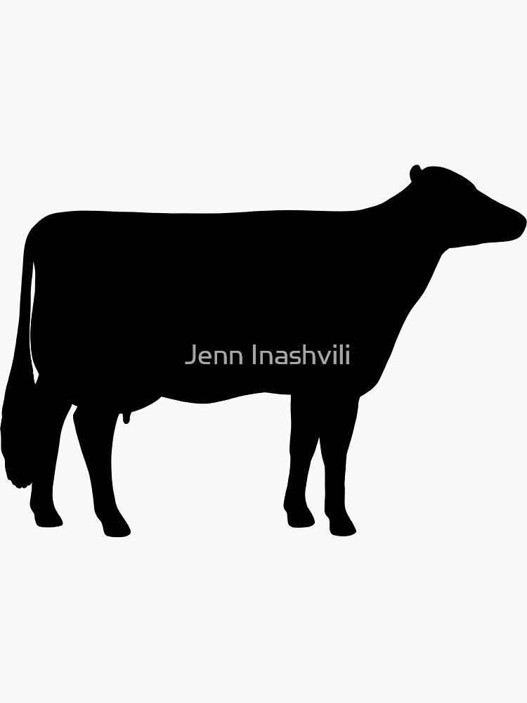 Holstein-Kuh-Silhouette (n) von ShortCoffee