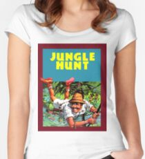 Jungle Hunt Women's Fitted Scoop T-Shirt