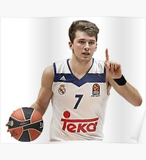 Luka Doncic  Poster