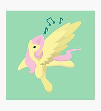 Sing Along Fluttershy Photographic Print