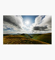The Long Mynd Photographic Print