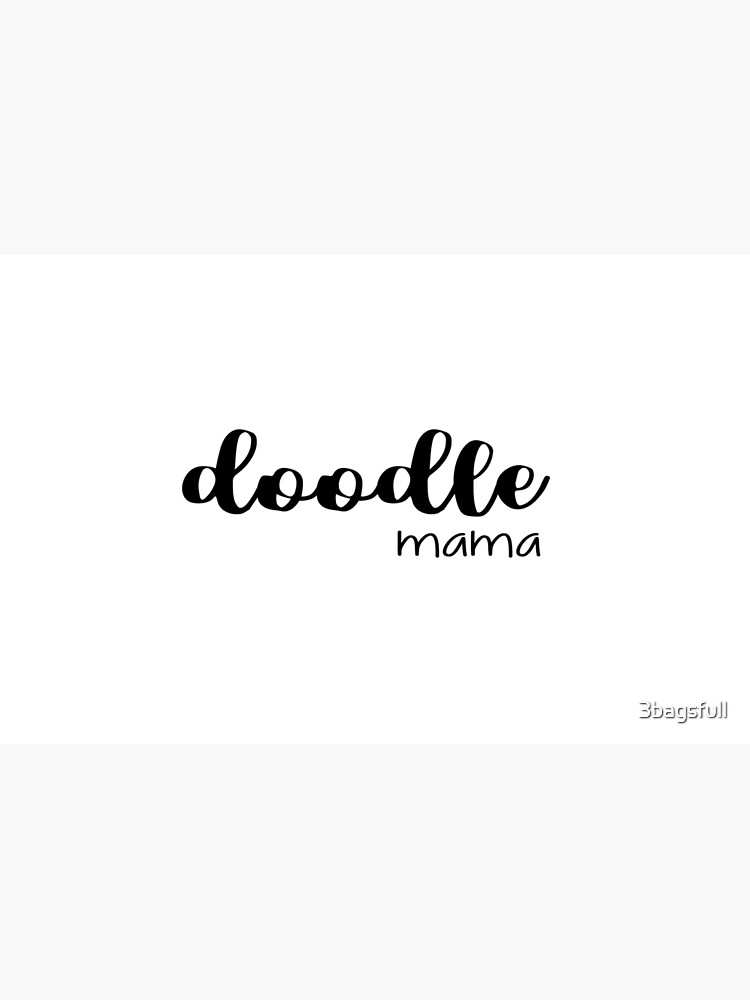 doodle mama - labradoodle / golden doodle by 3bagsfull