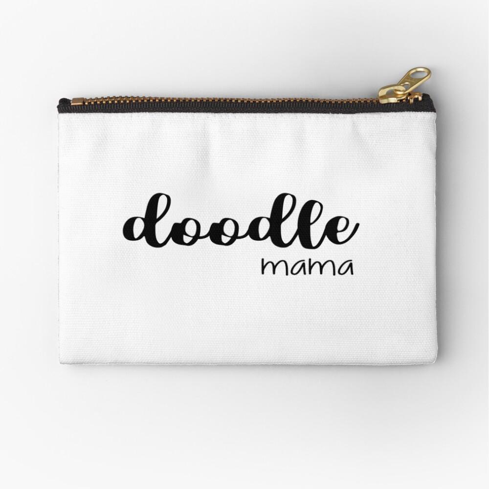 doodle mama - labradoodle / golden doodle Zipper Pouch