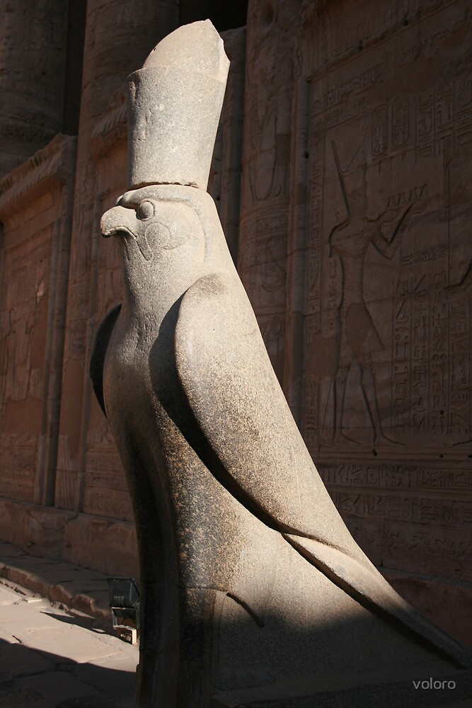 Edfu, Egypt by voloro