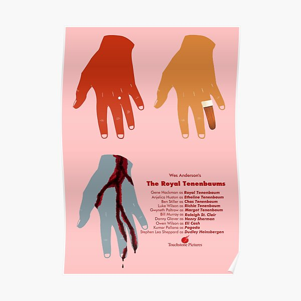 The Royal Tenenbaums Movie Poster Poster