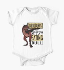 The Amazing Meat Eating Bull One Piece - Short Sleeve