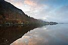 Derwent Water - Morning Light by David Lewins