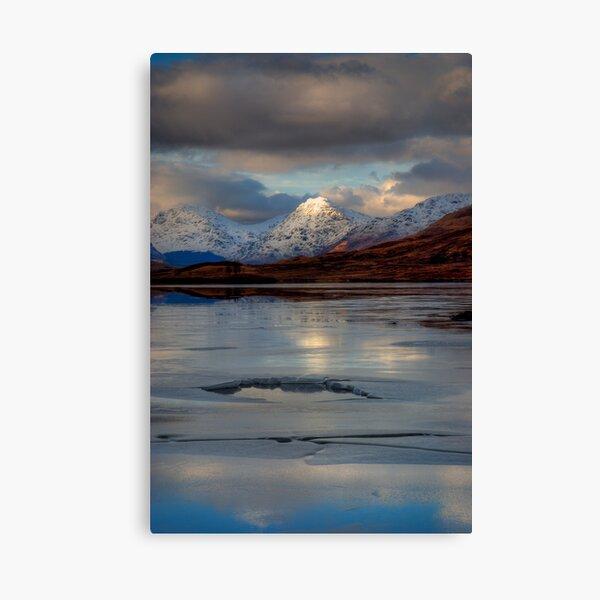 Loch Arklet , Trossachs Canvas Print