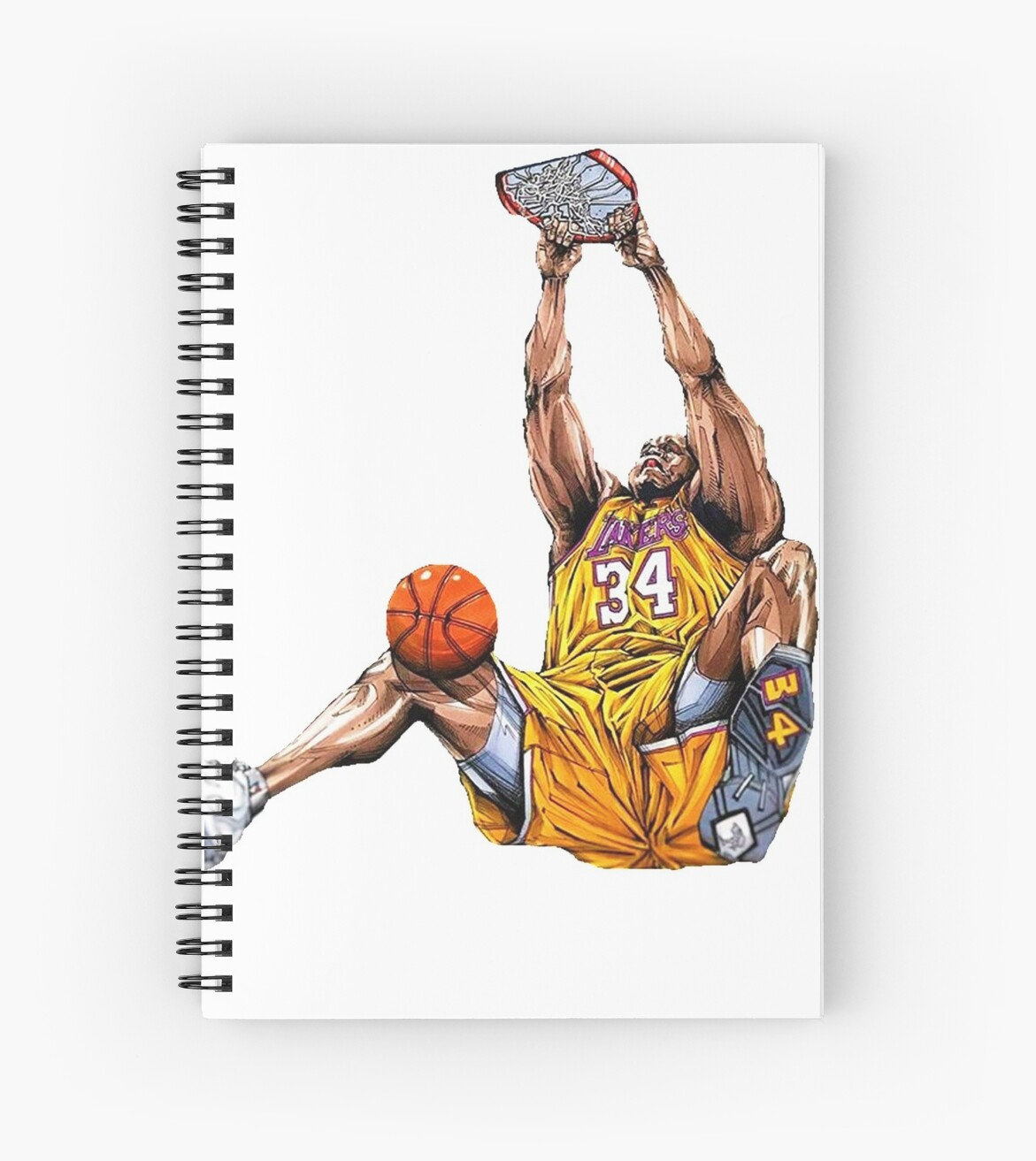 2a0fdf1749b Shaquille Oneal Dunk Shaq Attack Portrait Draw