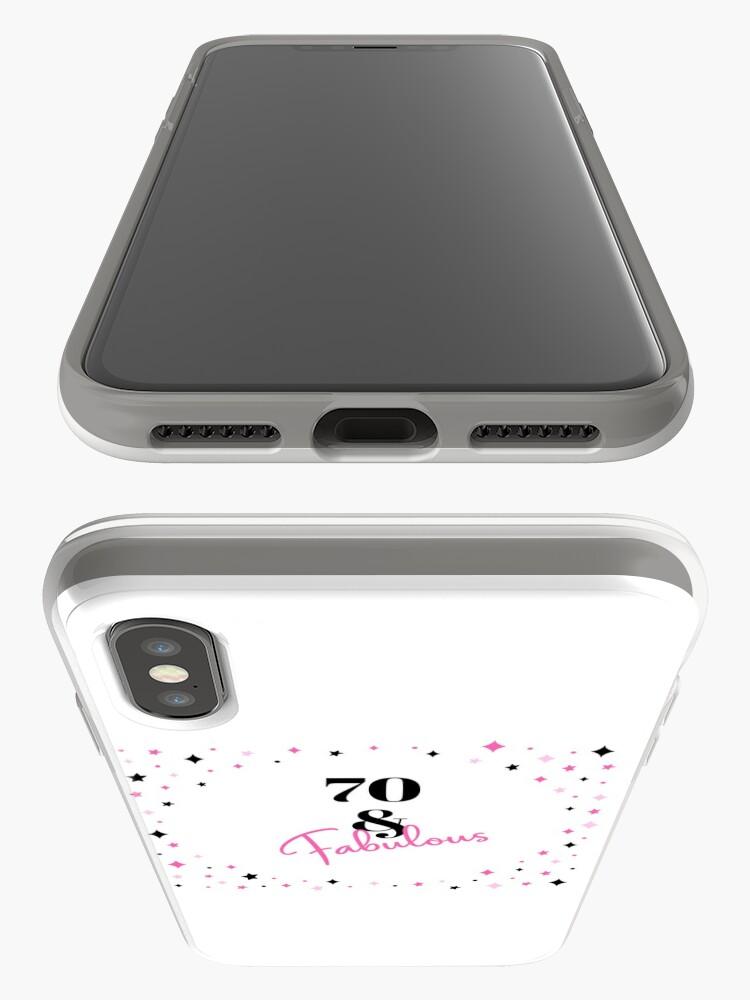 Alternative Ansicht von 70 und fabelhafter 70. Geburtstagsgeschenk für fabelhafte Siebzigjährige iPhone-Hülle & Cover