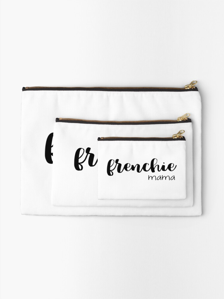 Alternate view of frenchie mama  Zipper Pouch