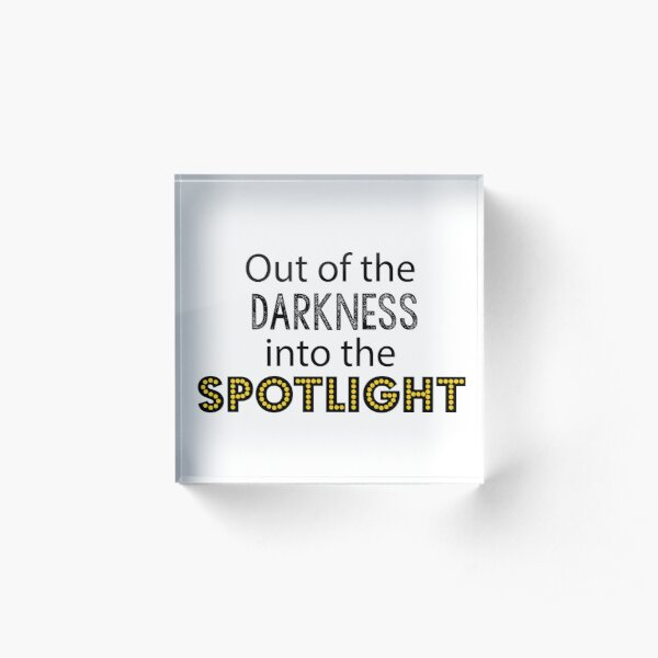 Everybody's Talking about Jamie: Out of the Darkness Acrylic Block
