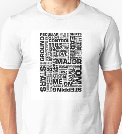 Writer*s Block • Space Oddity T-Shirt