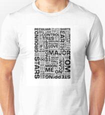 Writer*s Block • Space Oddity Unisex T-Shirt