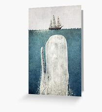 The Whale (Vintage) Greeting Card