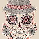 Dapper Skull by Danielle Reck