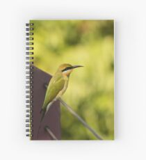 Rainbow Bee-eater Spiral Notebook