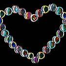 Heart Glow (digital art) by SJohnsonartist