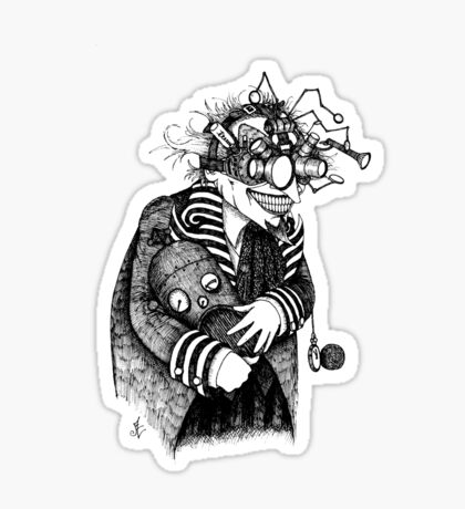 The Goggled Gentleman Sticker