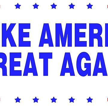 MAGA-Make America Great Again-white bg by DeplorableLib