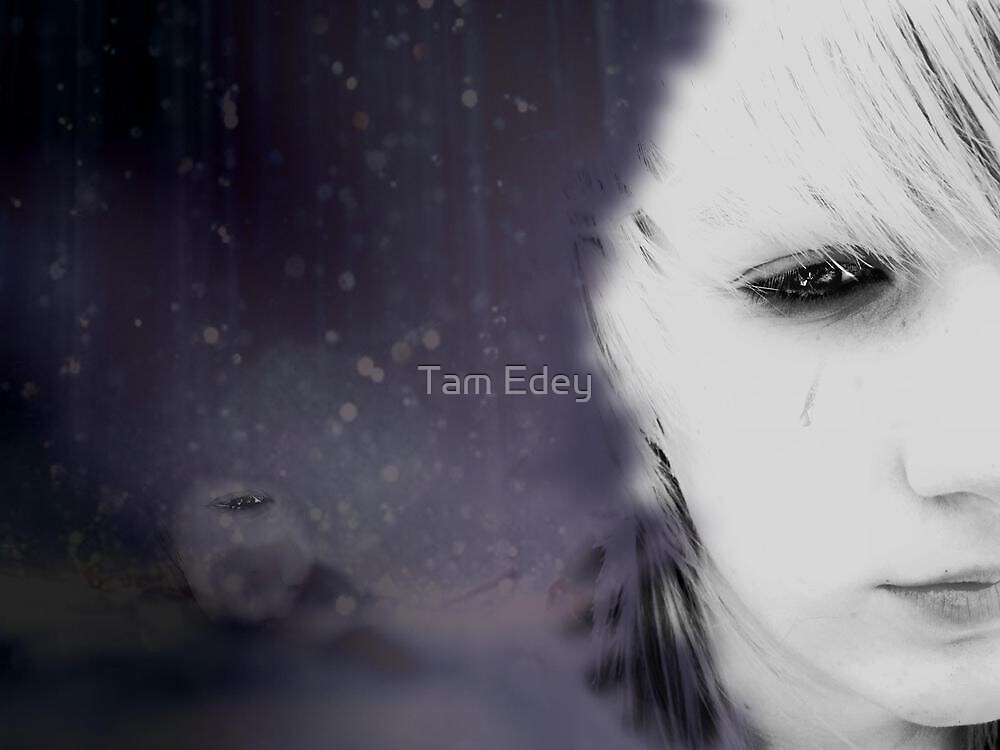 Your Tears Don't Fall, They Crash Around Me by Tam Edey