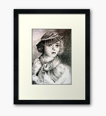 Bette Davis #1 - ACEO Framed Print