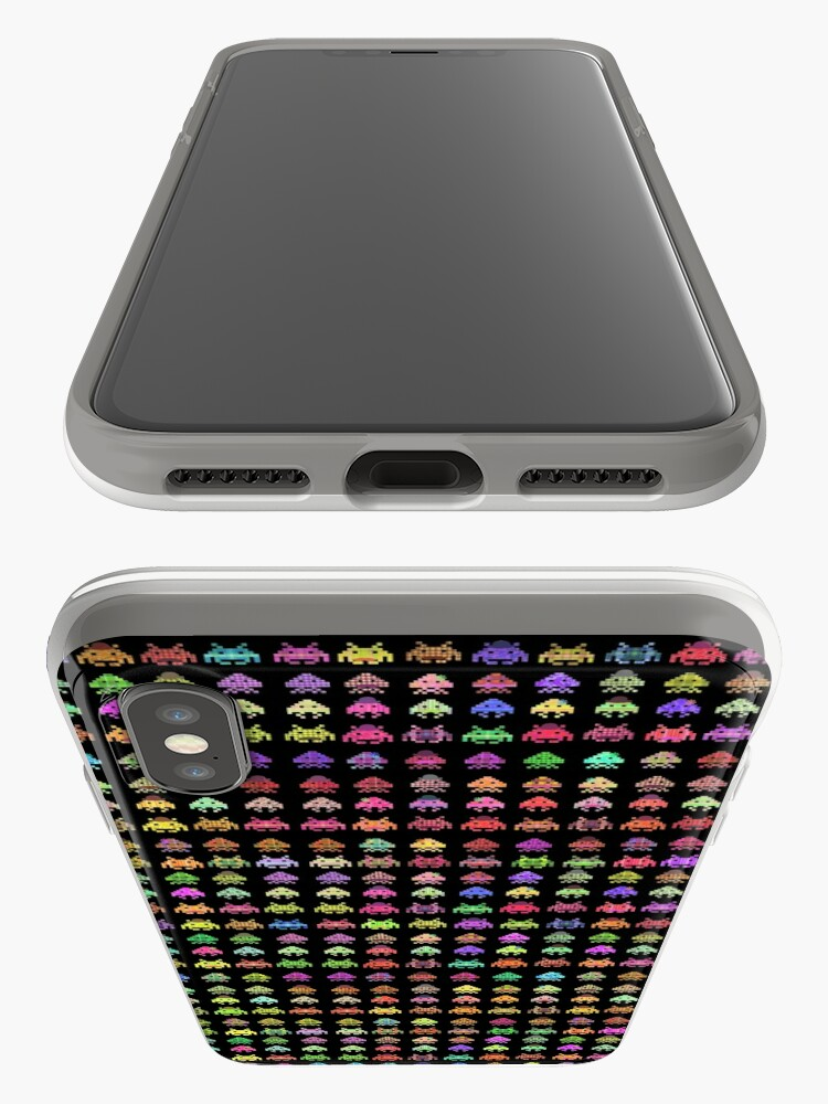Alternate view of Fashionable Invaders iPhone Case & Cover
