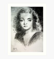 Bette Davis #3 - ACEO Art Print