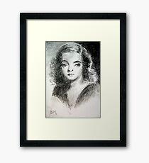 Bette Davis #3 - ACEO Framed Print