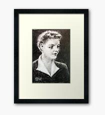 Bette Davis #4 - ACEO Framed Print