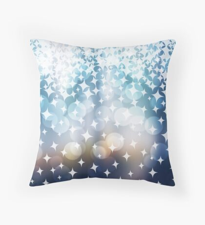Stardust and Light Throw Pillow