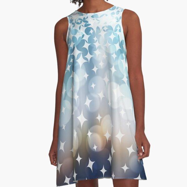 Stardust and Light A-Line Dress