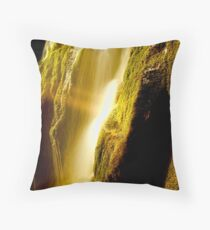 Lilydale Falls Throw Pillow