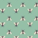 Design 73 - Yes, it's more bees. Don't look at me that way. by Davida Fernandez