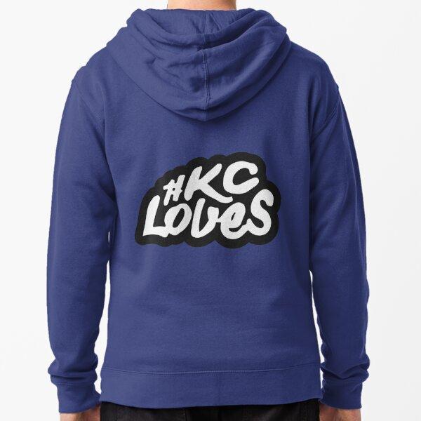 KC Loves Zipped Hoodie