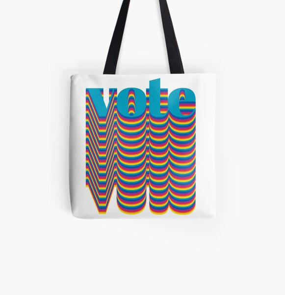 Get out the VOTE 2018 All Over Print Tote Bag