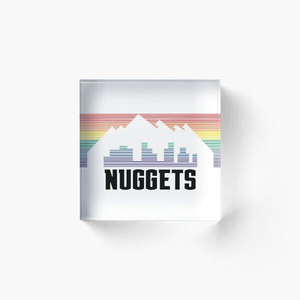 Nuggets Acrylic Block