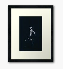 0217 - Brush and Ink - Slipping Twixt Framed Print