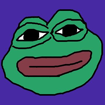 Animated Stuffed Pepe Face by big-dingus