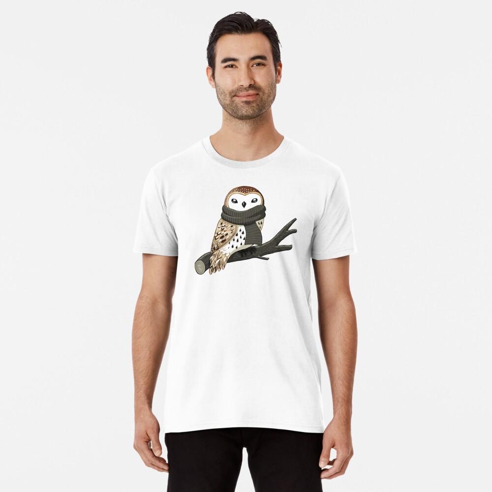 Winter Owl Premium T-Shirt
