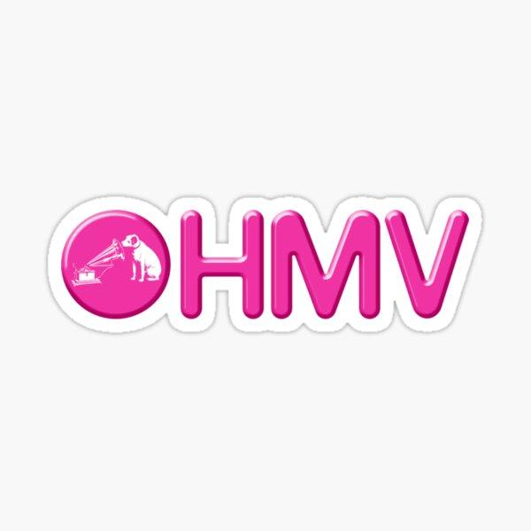 HMV Old Logo Sticker