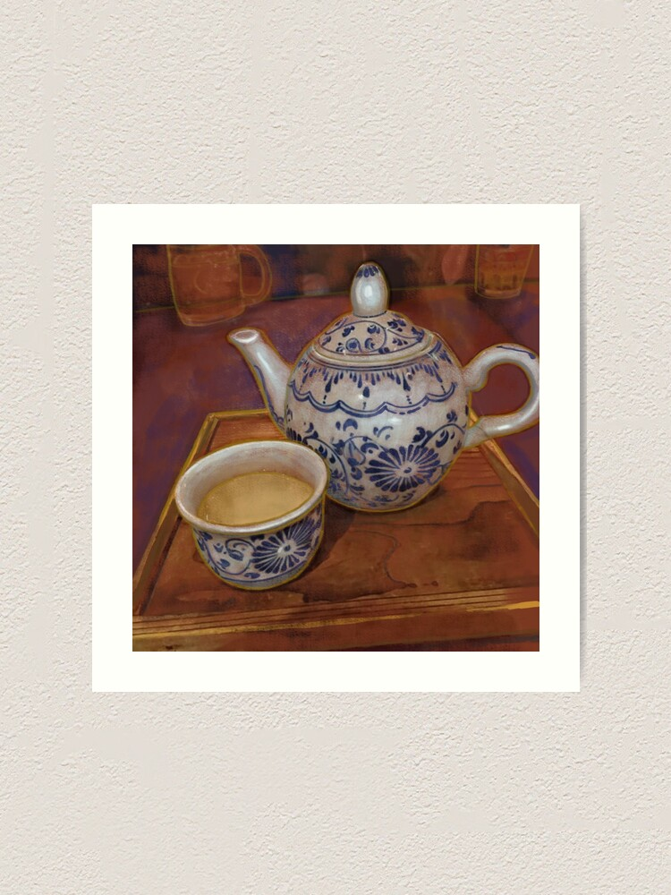 Alternate view of Tea in Tokyo Art Print