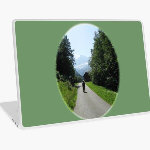 The Wonder of Wandering near Grindelwald, Switzerland Laptop Skin