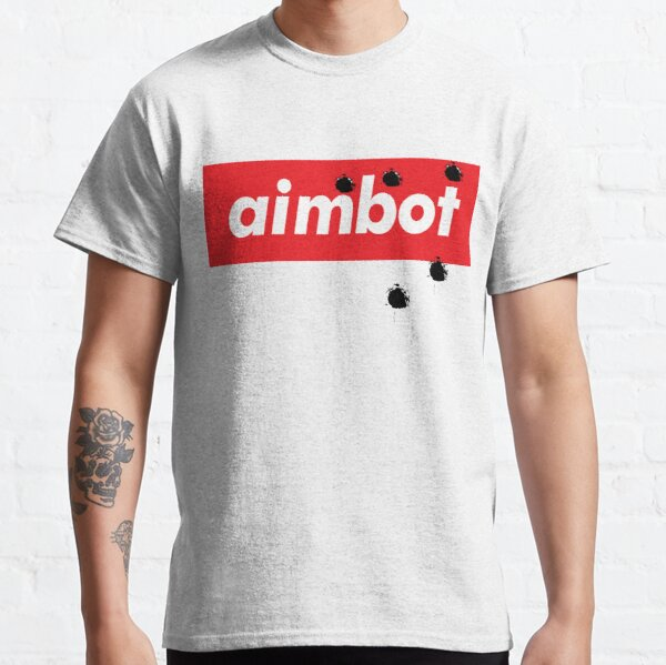 Aimbot Gamer Video Gaming Words Gamers Use. I Love Playing Esports! Classic T-Shirt