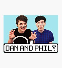 Dan and Phil! Photographic Print