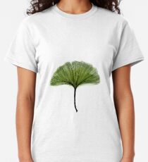 Gingko Ginko biloba watercolor and ink Classic T-Shirt