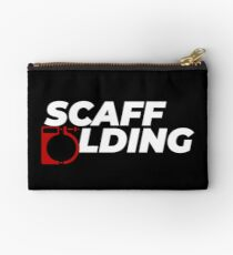 Scaffolders Tee Occupations Studio Pouch